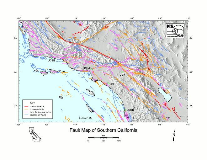 Faults In California