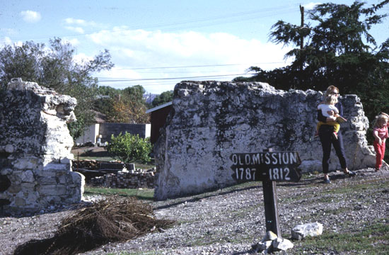 1812 Santa Barbara Earthquake Image Of La Purisima Mission